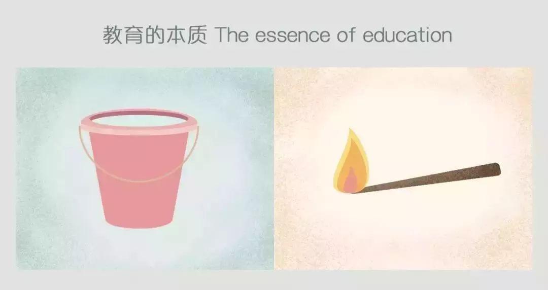 25幅犀利的漫画教育对比:教育不是灌满一桶水,而是点燃一把火!