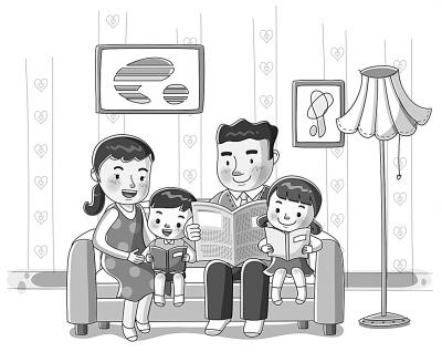 """成就家庭教育的""""四个一"""""""