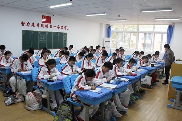 超银中学开启教学新模式 集团化优势助力教师集备