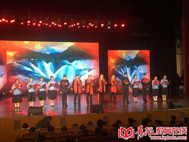 青岛外事学校:艺术汇演展青春风采  歌舞致敬美丽新时代
