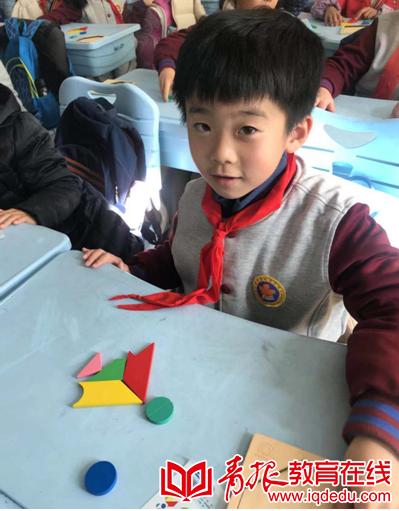 嘉峪关学校二年级六班:奇妙多变的七巧板