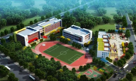 最新进展!小水清沟村改造配套学校和幼儿园竣工
