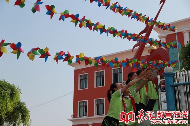 惠特小学庆六一:拾忆传统民间游戏  共享欢乐童趣时光