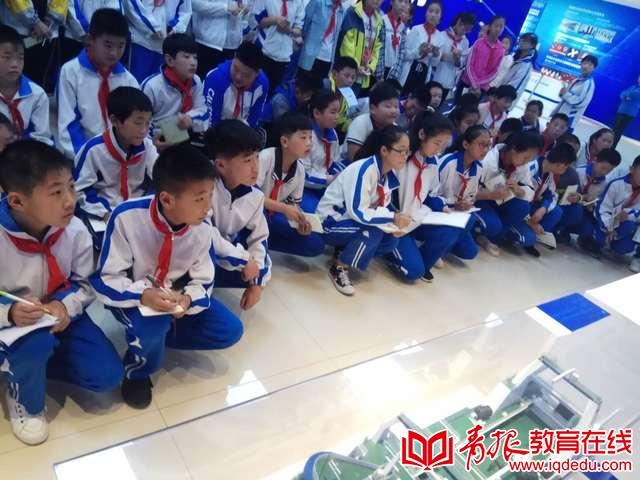 """温泉皋虞小学带领学生赴西工大青岛研究院""""进修"""""""