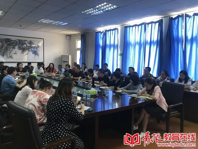 交流互鉴  共促发展——青岛十六中迎深圳教师考察团