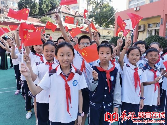市南区向国旗敬礼启动仪式:童声歌唱祖国