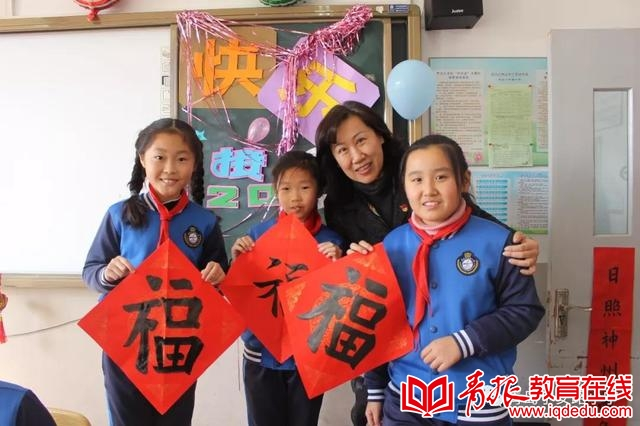 乐享传统文化 喜迎美好新年 青岛宁安路小学开展传统手工制作活动