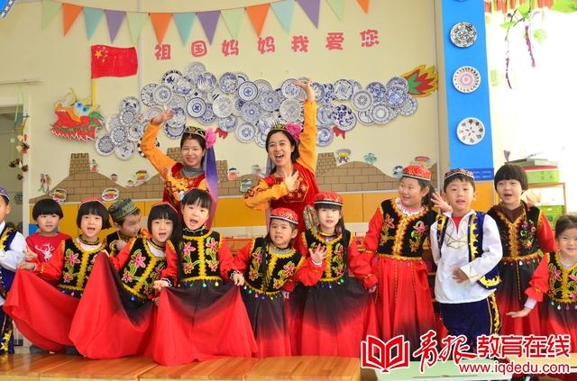 """来瑞安幼儿园过民族新年 润泽课程陪孩子一起""""玩"""""""