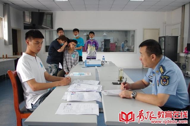 青岛全域招生 胶州四中航空班考生素质评定工作顺利进行