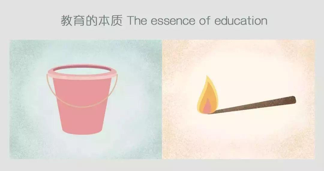 25幅犀利的漫画对比:教育不是灌满一桶水,而是点燃一把火