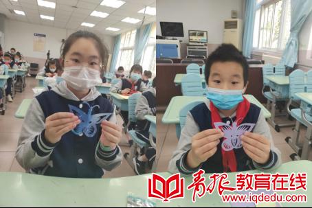朝城路小学:跟着大师学剪纸,非遗文化在指尖传承