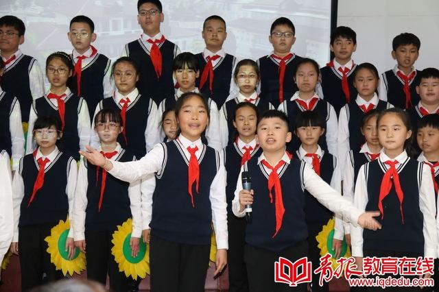 班级特色展示异彩纷呈,市实小学子花样颂祖国