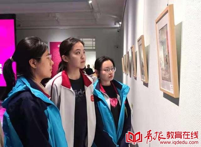 青岛十七中:用画笔敲开顶尖艺术学府之门