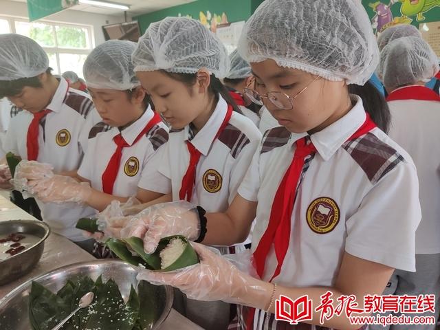 大学路小学:巧手包粽乐淘淘,传统文化润童心