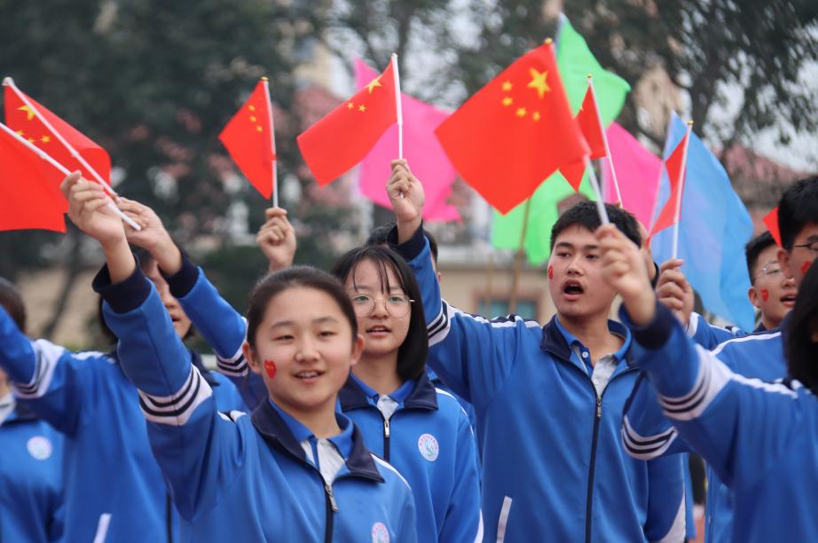 胶州市初级实验中学:党建引领添动力 文明之风拂面来
