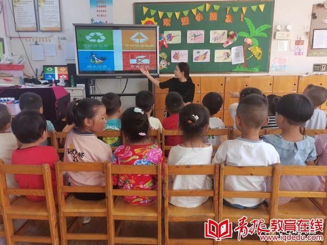 """平度市门村中心幼儿园:见""""圾""""行事,绿色""""童""""行"""